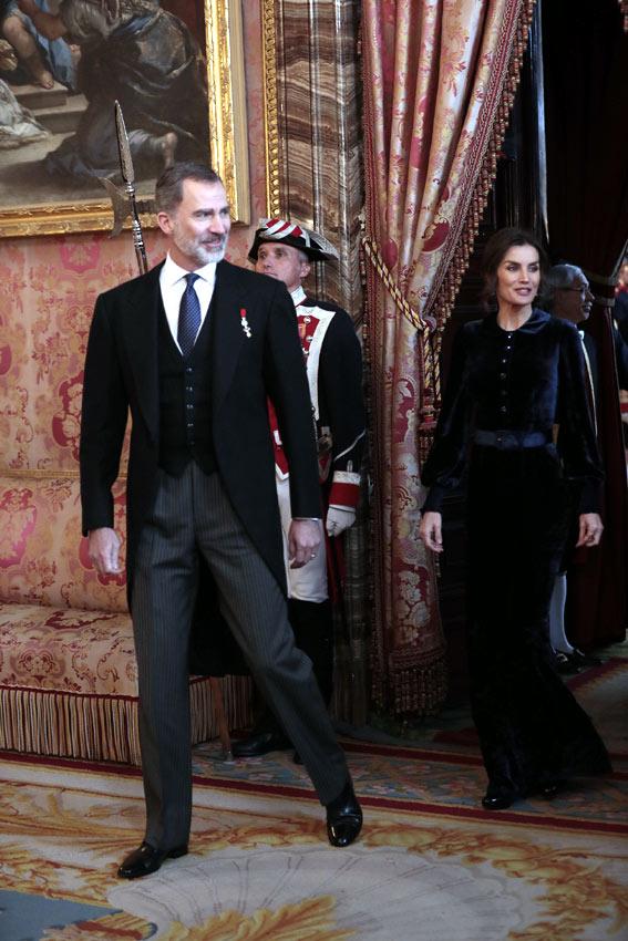 Réception pour le Corps Diplomatique