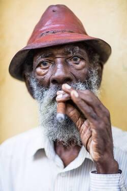 L'homme au cigare