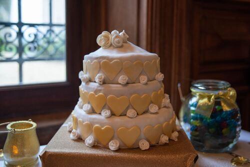 Le wedding cake fait par Sabine