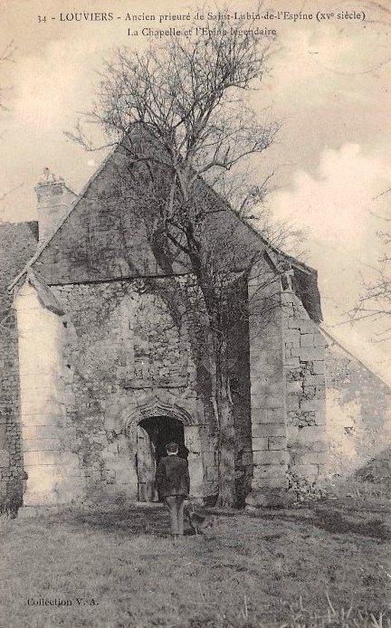Ancien prieuré de Saint-Lubin à Louviers (Eure)