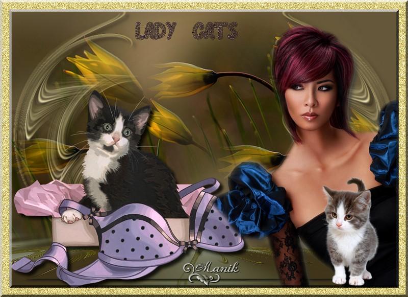 Défi 68 pour Beauty  ( Lady Cats )