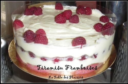 TIRAMISU FRAMBOISE