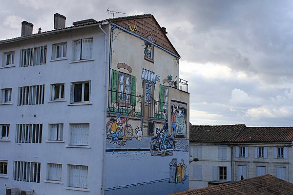 fresque Angoulême 16