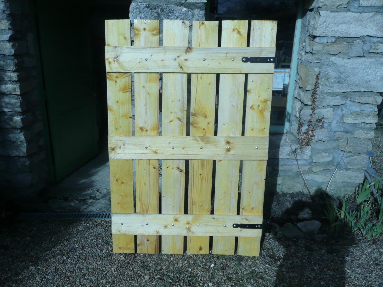 Le portillon du poulailler r nov malong re58 for Portillon maison