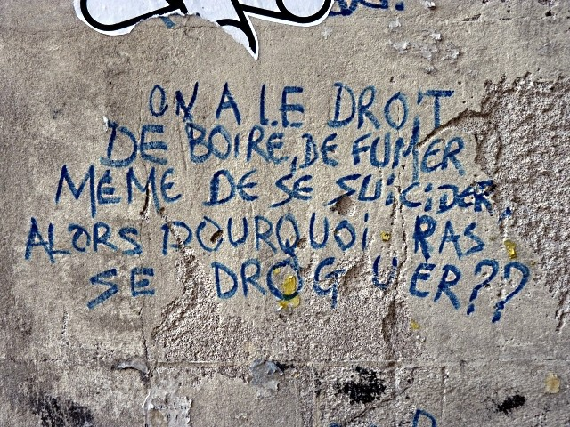 Metz question sur la drogue - Marc de Metz 2011
