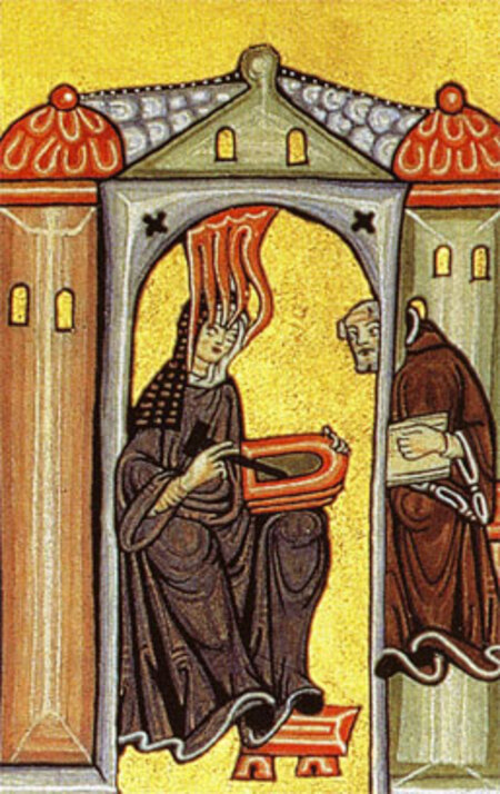Éphéméride du Jour 3:  Hildegarde de Bingen ( 1098 - 17 septembre 1179)