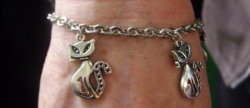 Bracelet chats siamois
