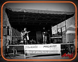 Anjj Concert Live JMR Place de la Comédie à Montpellier 1er Mars 2014..