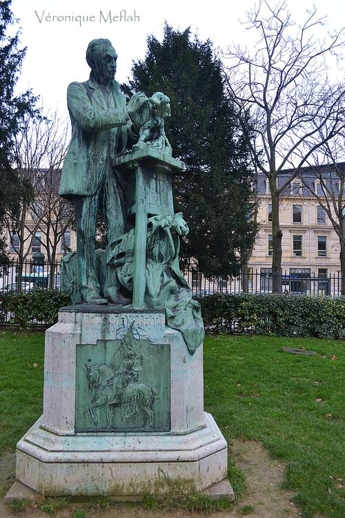 Jardin des Plantes :  Emmanuel Frémiet par Henri Gréber