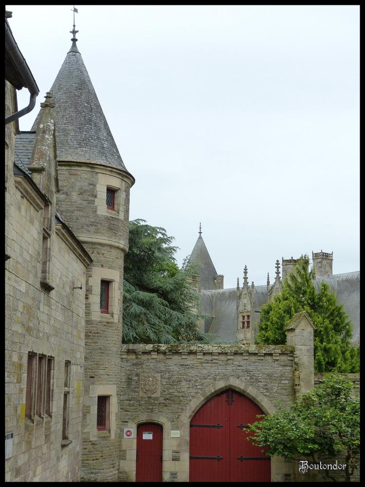 Josselin - le château et le parc