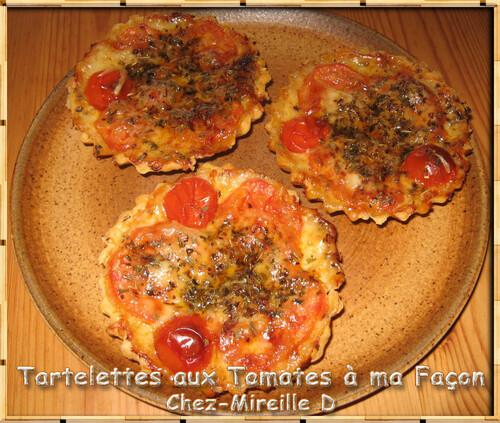 Tartelettes à la Tomate à ma Façon