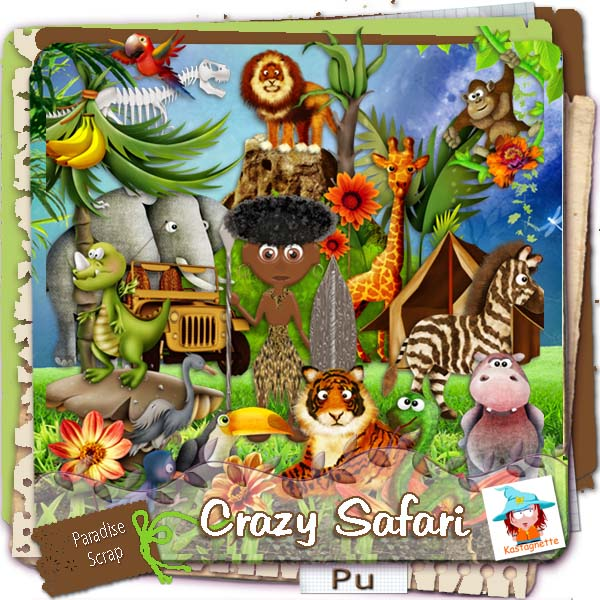 """Crazy Safari"" by Kastagnette"