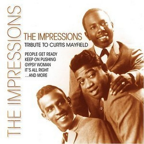 """2004 : Album CD """" Tribute To Curtis Mayfield """" Delta Records 32125 [ US ]"""