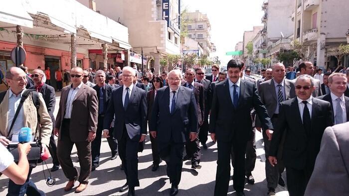 Algérie : visite inédite   d'un ministre français   à Sétif