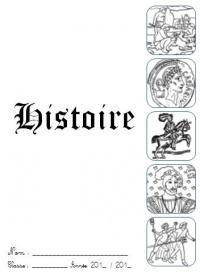 Page de garde cahier