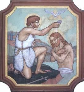 Bapteme de Jésus