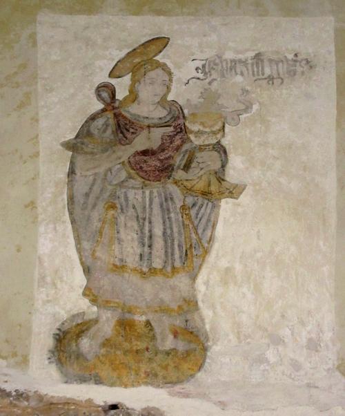 Les fresques de l'église de Savoisy