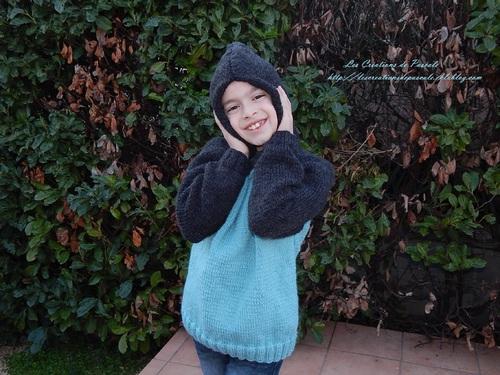 *Version bicolore pour le pull à capuche!