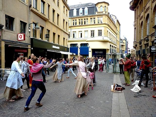 Annimation médiévale de rue à Metz 11 Marc de Metz 16 07