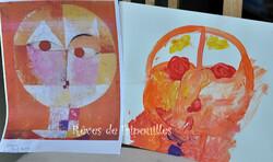 Peinture d'inspiration d'oeuvres d'artistes Allemands