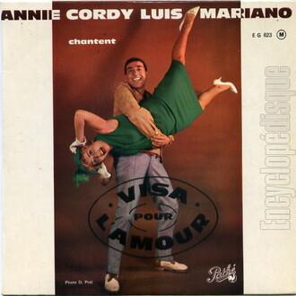 Annie Cordy, 1962 - Pathé (EG 623)