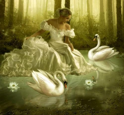 The Swan mozaik menyasszonyi kollekció
