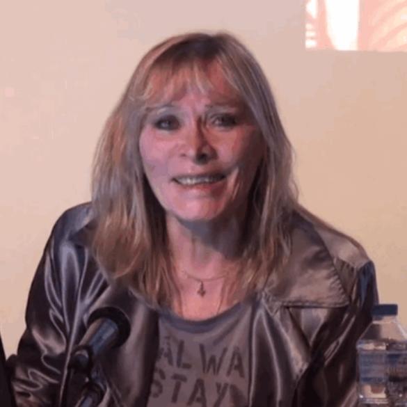 Claire Séverac en conférence au Théâtre de la Main d'or le 19 septembre 2015
