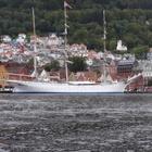 Norvège3 - Bryggen : vieux quartier tout en bois le long du port de Bergen (Septembre 2019)