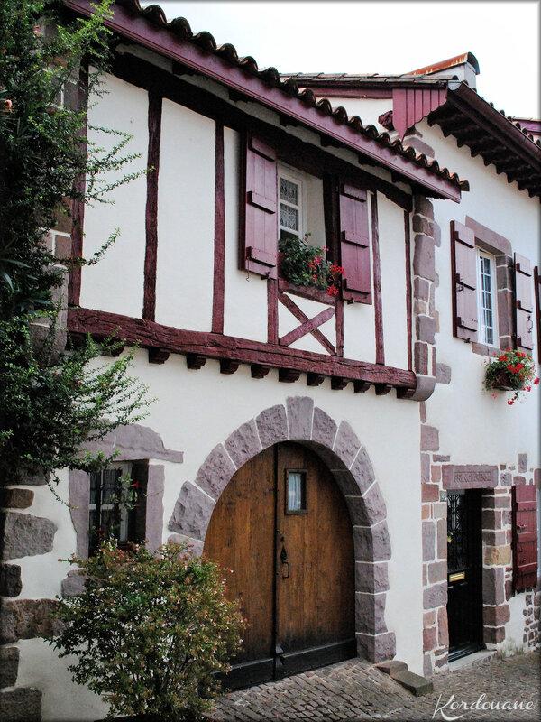 Maisons de Saint Jean Pied de Port