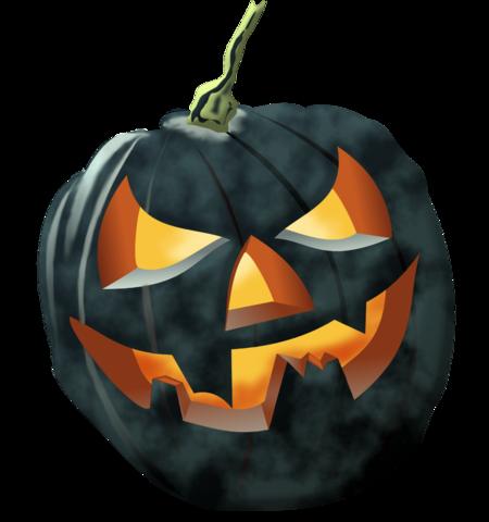Tubes Citrouilles d'Halloween Tableau 04