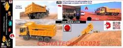 CHINE: les camions miniers spécifiques autonomes sans pilote.