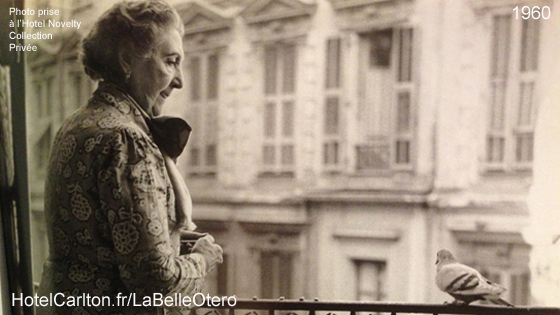 La Belle Otero à 92 ans