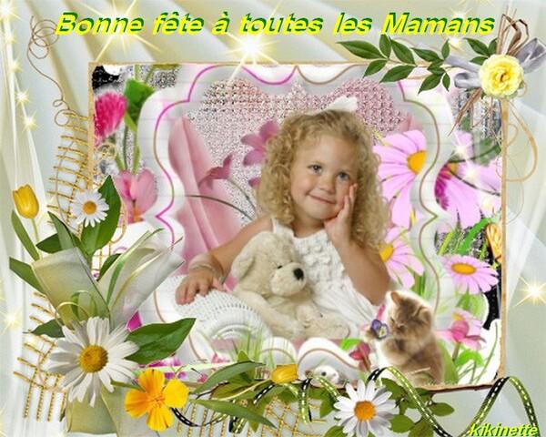 Bon week end à tous et belle fête à toutes les Mamans