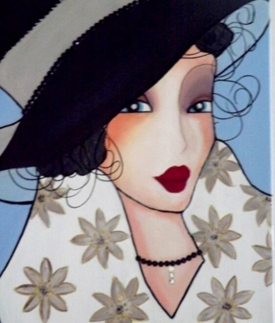 Peintures: Femme..... 18 08 2015