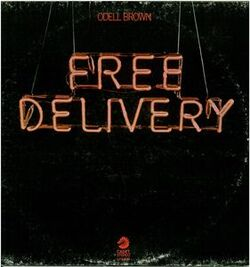 Odell Brown - Free Delivery - Complete LP