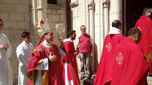 Célébration des Rameaux avec la paroisse étudiante de Toulouse