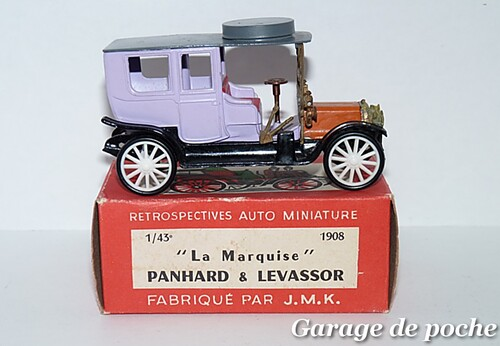 """Panhard et Levassor """"La Marquise"""" 1908 RAMI JMK"""