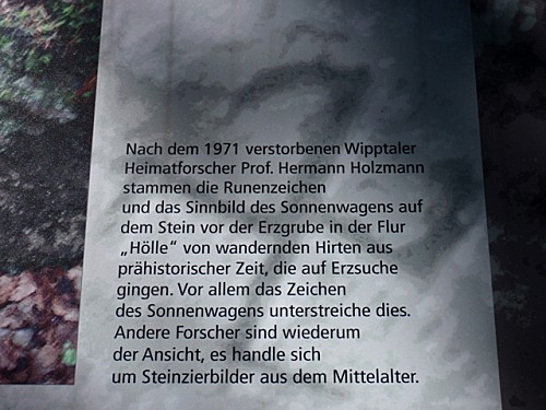 Svastika découvert en Haut-Adige