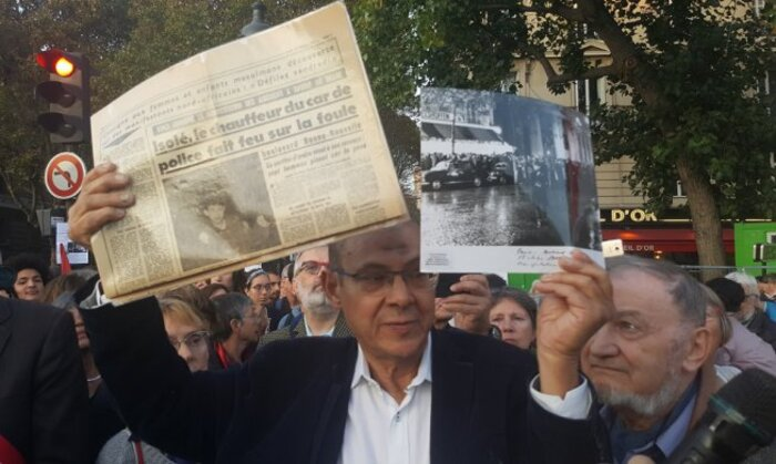 Répression d'hier et d'aujourd'hui  Rassemblement en mémoire  du 17 octobre 1961. Un passé révolu ?