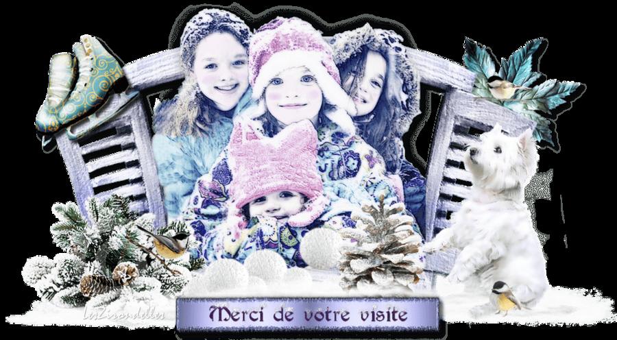 Entêtes hiver, Les choupinettes à la neige