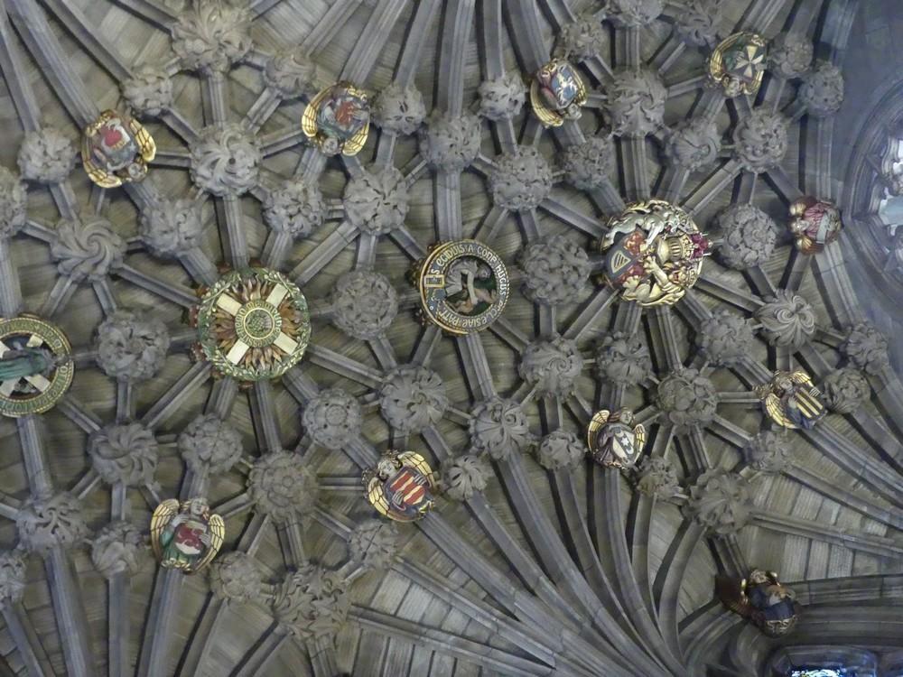 La Cathédrale Saint-Gilles à Edimbourg : intérieur...