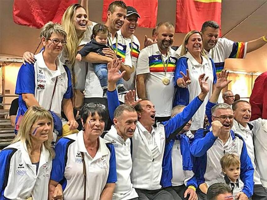 L'Equipe de France est Championne du Monde