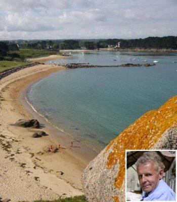 de sa maison, ppda profite d'une vue imprenable sur la côte bretonne.