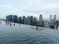 L'hôtel Marina Bay Sands