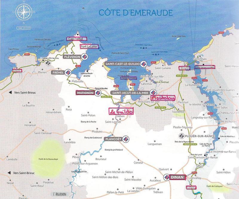 Au bord de la Manche en Bretagne