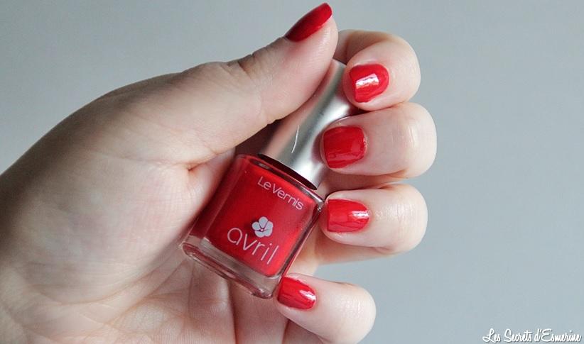 Les Rouge Avril... ou mon côté Puissant et Féminin ! [Test & Avis]