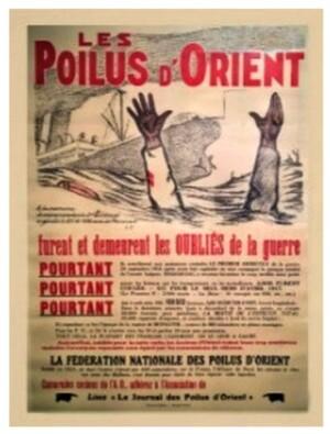 """Colloque """"Armée d'orient Front d'Orient""""  Samedi 17 novembre 2018 Maison Méditerranéenne des Sciences de l'Homme 5 Rue Château de l'Horloge 13090 Aix-en-Provence"""