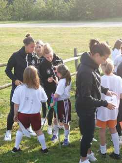Eléa raconte sa rencontre avec l'équipe féminine allemande de football!