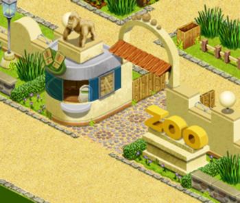 zoo de grande ville