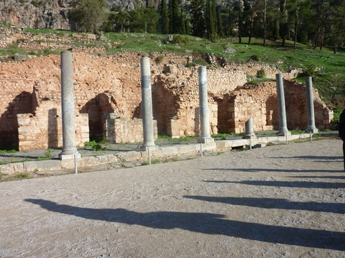 Delphes : le sanctuaire d'Apollon